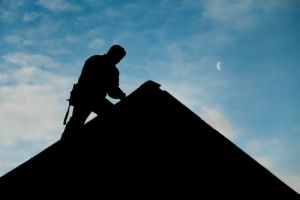roofing person